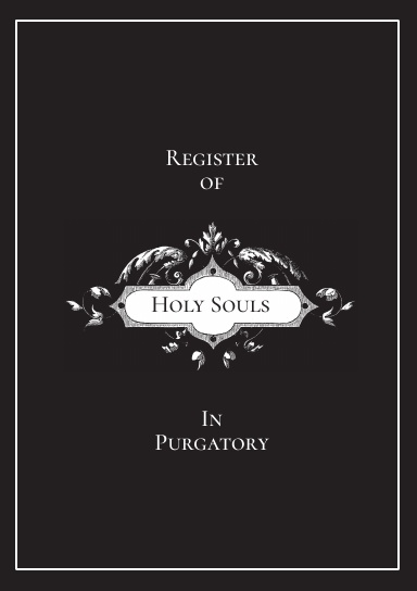Register of Holy Souls in Purgatory