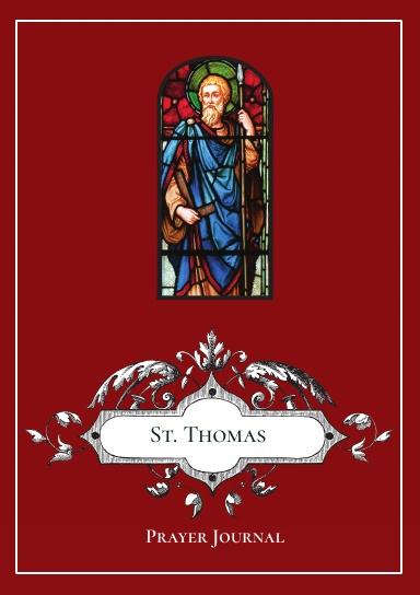 St. Thomas the Apostle Prayer Journal
